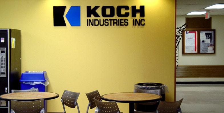 Koch Industries Interior Sign by Trimark