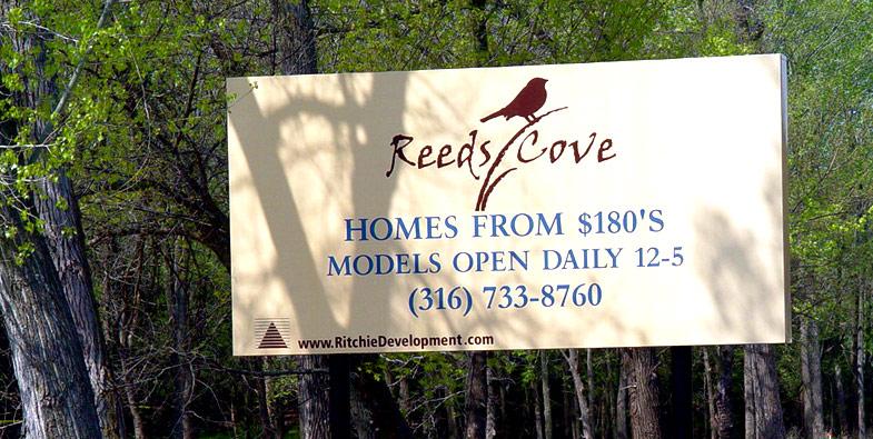 Oak Creek Worksite Sign