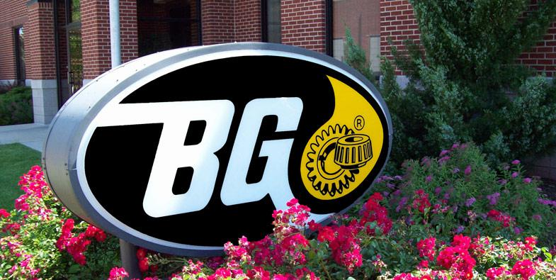 BG Products Monument Sign