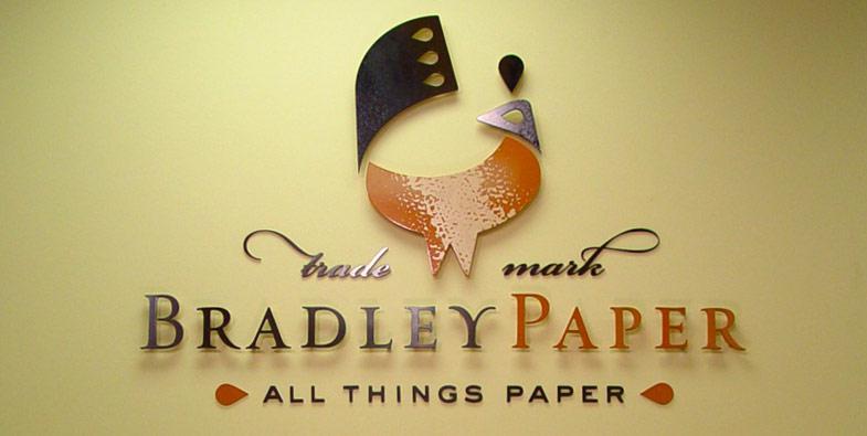 Bradley Paper Interior Sign