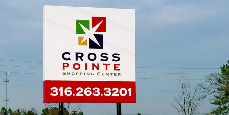 Cross Pointe Worksite Sign
