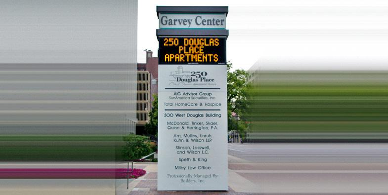 Garvey Center EMC Sign