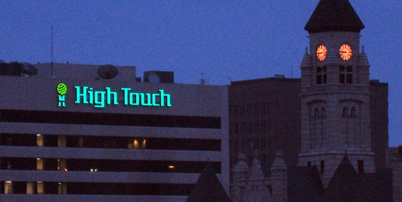 HighTouch Technology Sign by TriMark