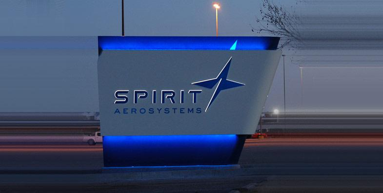 Spirit Aerosystems Sign