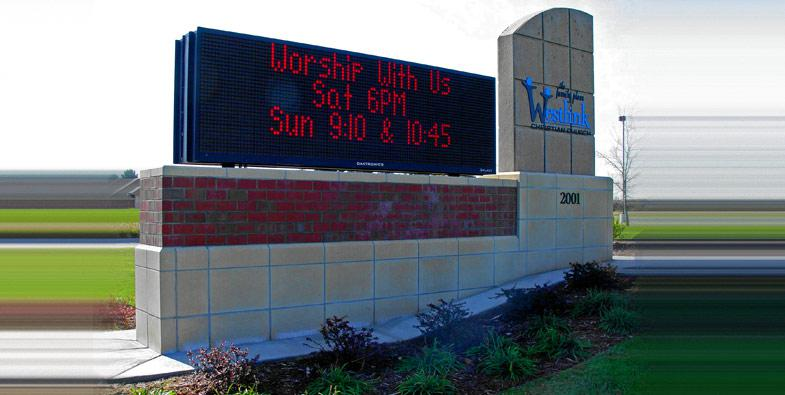 Westlink Church EMC Sign